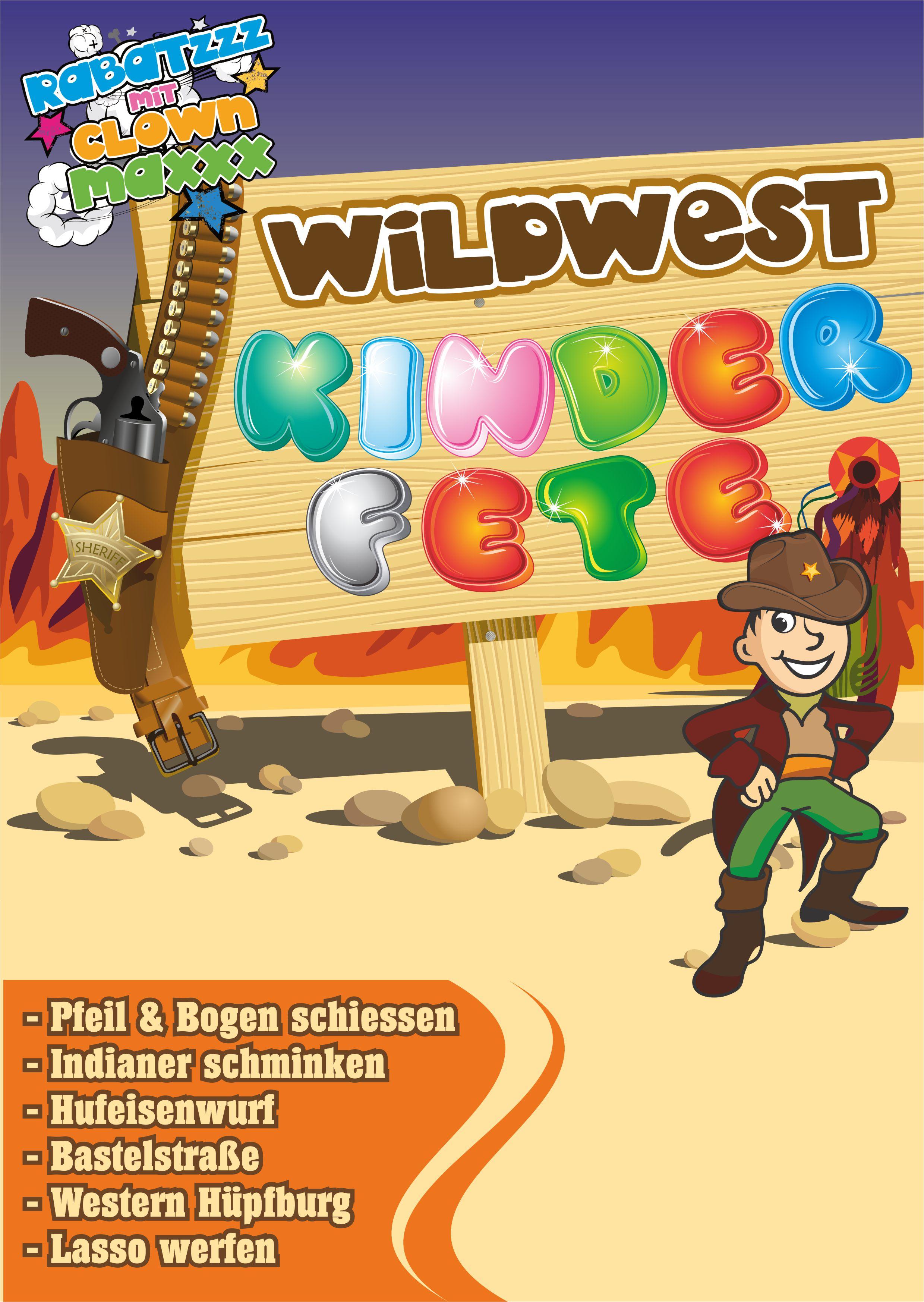 plakat-kinderfest-western-indianer
