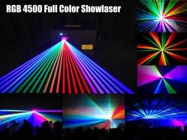 Lasershow auch für die Kinderdisco