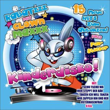 """Neue CD """"Kinderdisko"""" von Clown Maxxx"""